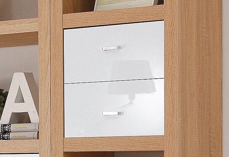 Schubkästen, Breite 35 cm (2 Stck.) in weiß