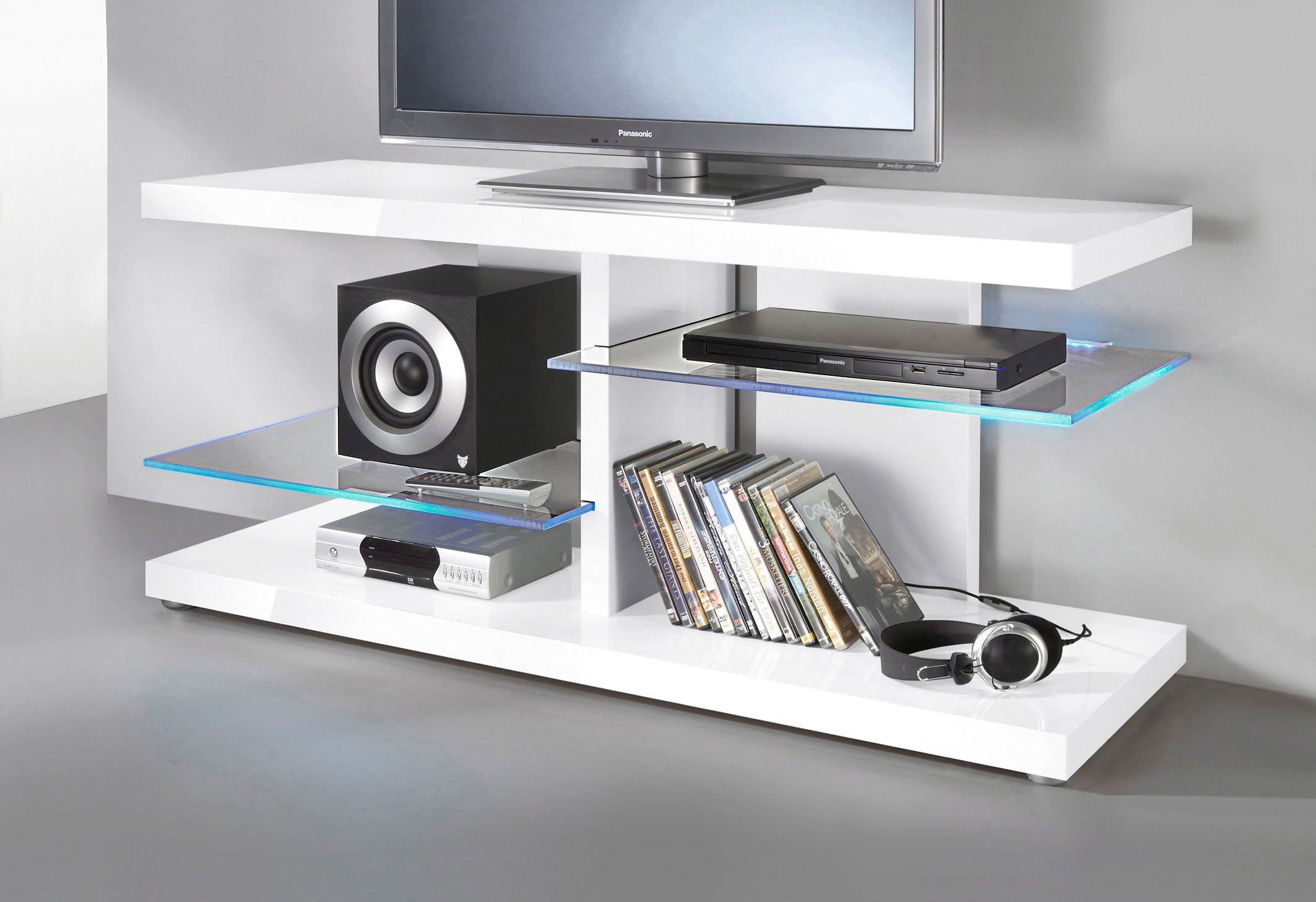 weiss-hochglanz-hochglanz TV-Lowboards online kaufen | Möbel ...