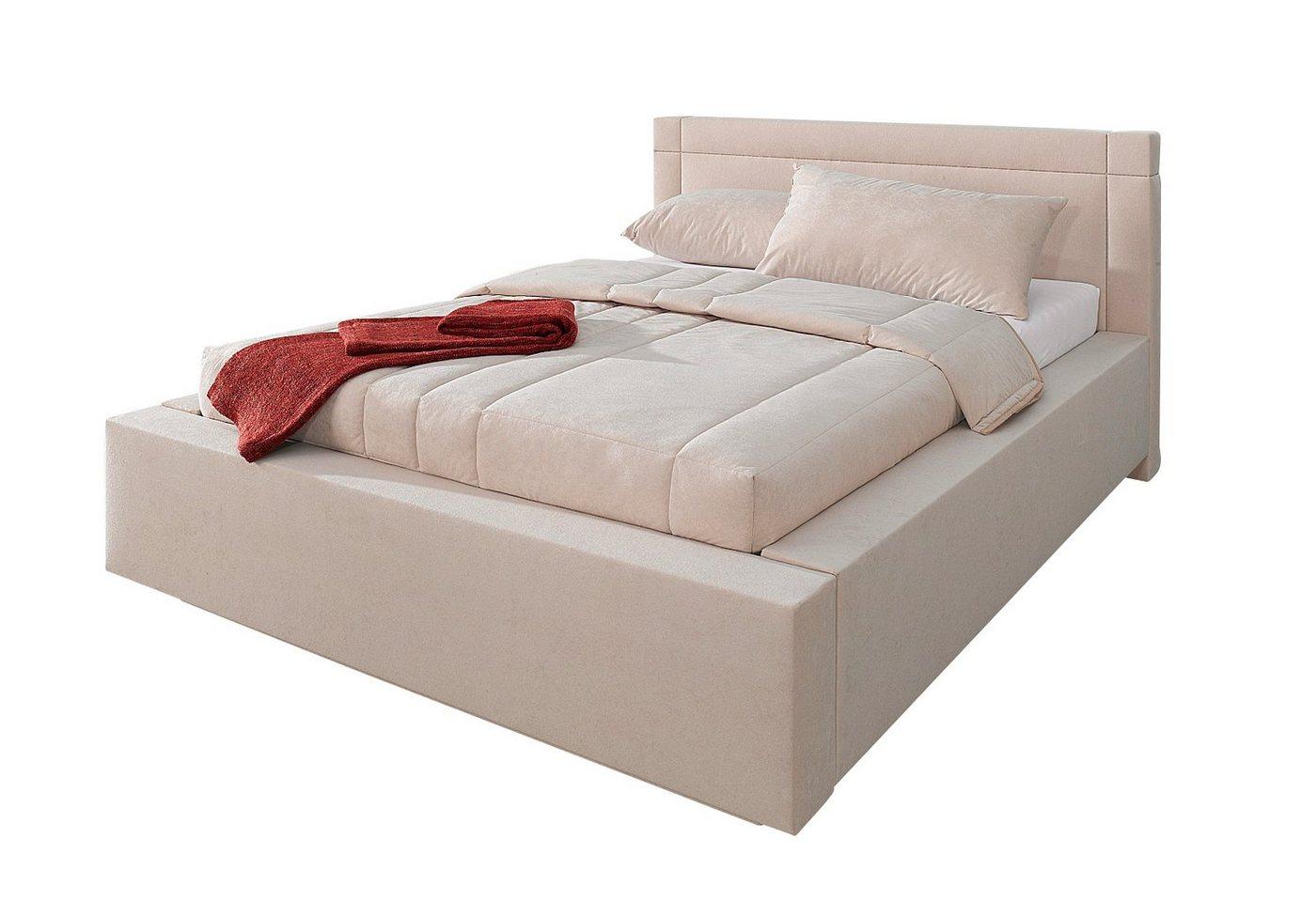 Westfalia Schlafkomfort Polsterbett, mit Bettkasten | Schlafzimmer > Betten > Polsterbetten | Westfalia Schlafkomfort