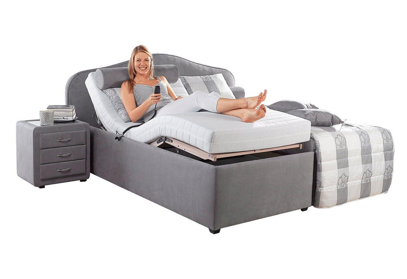 betten mit bettkasten und motorrahmen preisvergleiche erfahrungsberichte und kauf bei nextag. Black Bedroom Furniture Sets. Home Design Ideas