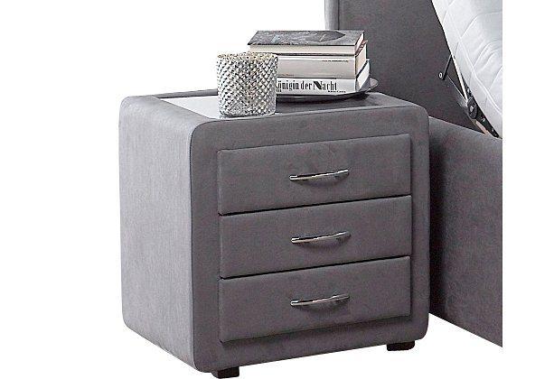Nachtkonsole in grau
