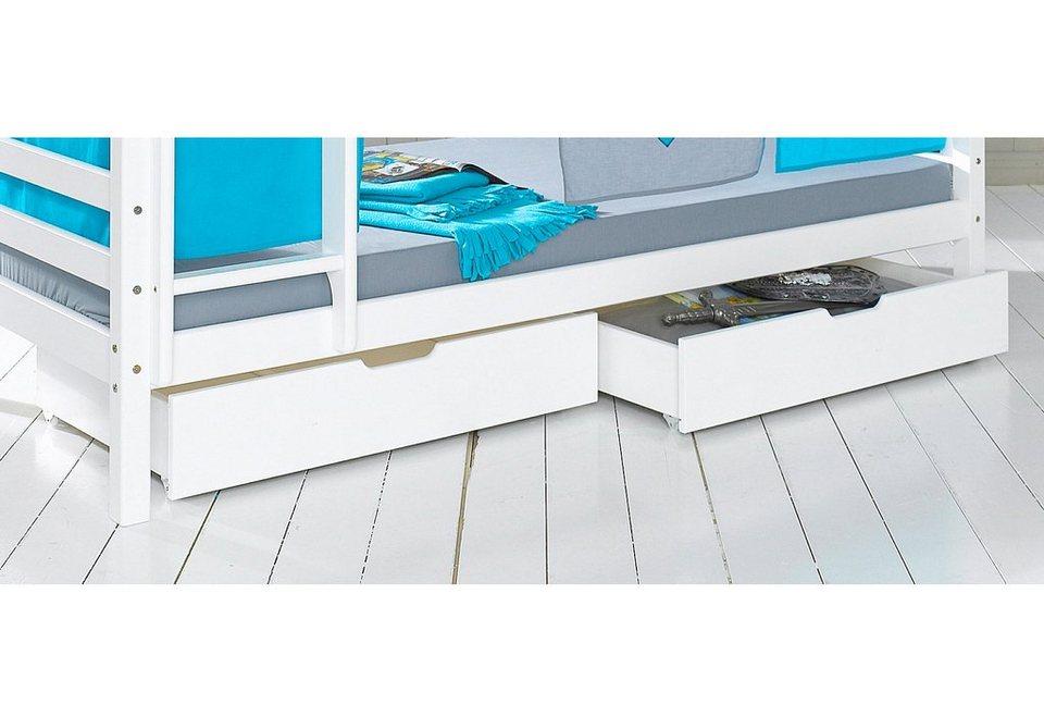Hoppekids Schubladen-Set (2-tlg.) in weiß