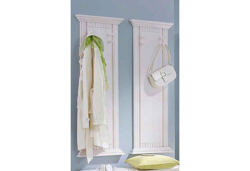 Home affaire Garderobenpaneel »Rustic«, (2 Stck)