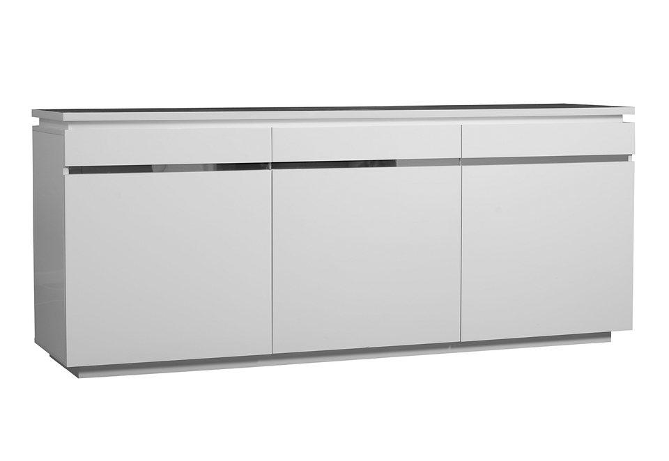 Sideboard in 2 Farben in weiß