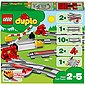LEGO® Spielbausteine »LEGO® DUPLO® 10882 Eisenbahn Schienen«, Bild 1