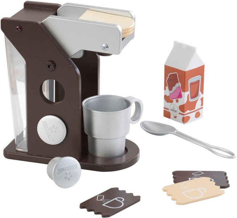 KidKraft® Kinder-Kaffeemaschine »Spielset Kaffee, Espresso«, (10-tlg), mit Tasse und Zubehör