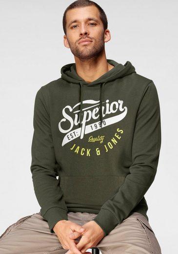 Jack & Jones Kapuzensweatshirt »LOGO HOOD«