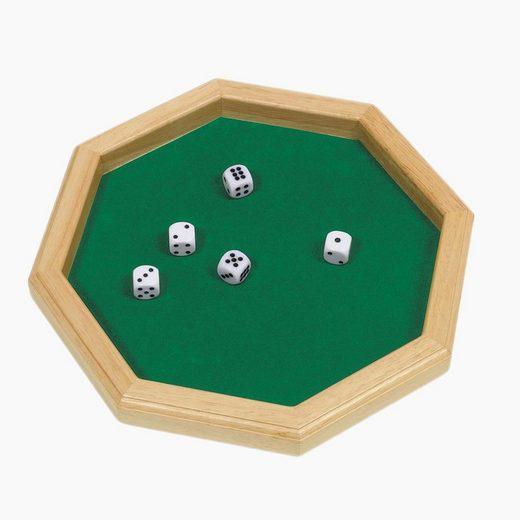 goki Spiel, Würfelglück »Würfelteller mit 5 Würfeln«