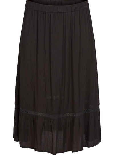 44  48  NEU Damen Rock Damenrock schwarz weiß gemustert Größe