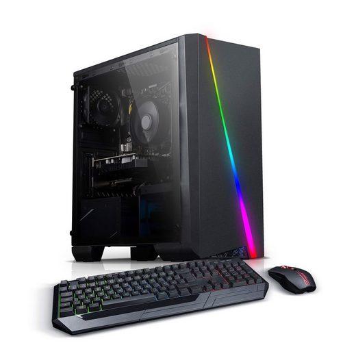 Kiebel Cobra Gaming-PC (AMD AMD Ryzen 5 2600 Ryzen 5, GTX 1660 SUPER, 16 GB RAM, 512 GB SSD, Luftkühlung, RGB-Beleuchtung, WLAN)