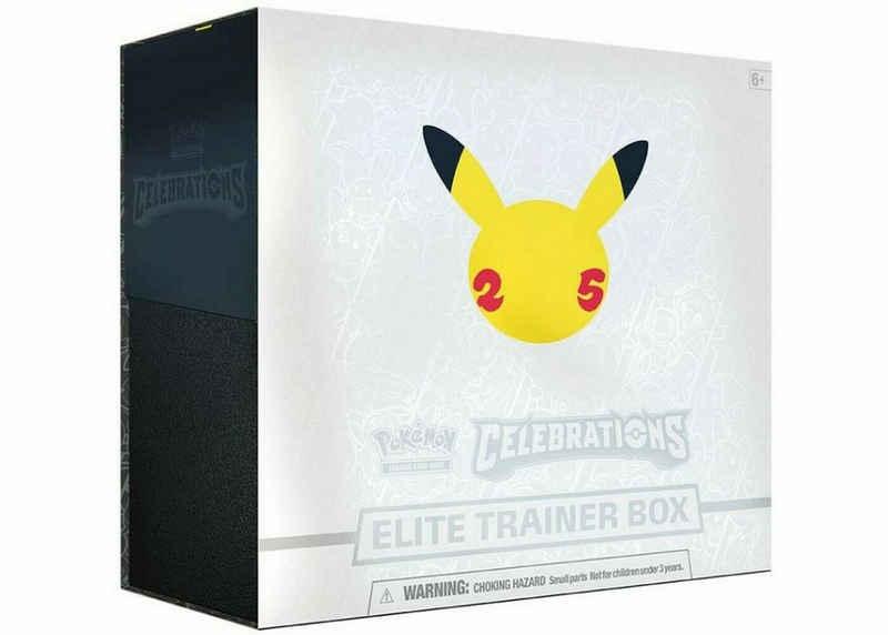 POKÉMON Sammelkarte »Pokémon - Celebrations - Elite Trainer Box - englisch«