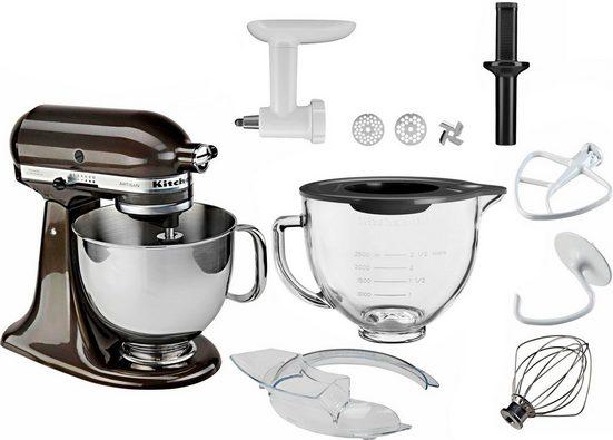 KitchenAid Küchenmaschine Artisan 5KSM150EBZ, 300 W, 4,8 l Schüssel, inkl. Sonderzubehör im Wert von ca. 218,-€ UVP