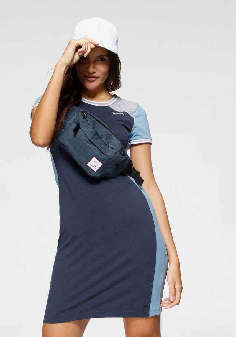 KangaROOS Shirtkleid mit Colorblocking und Kontrastbündchen