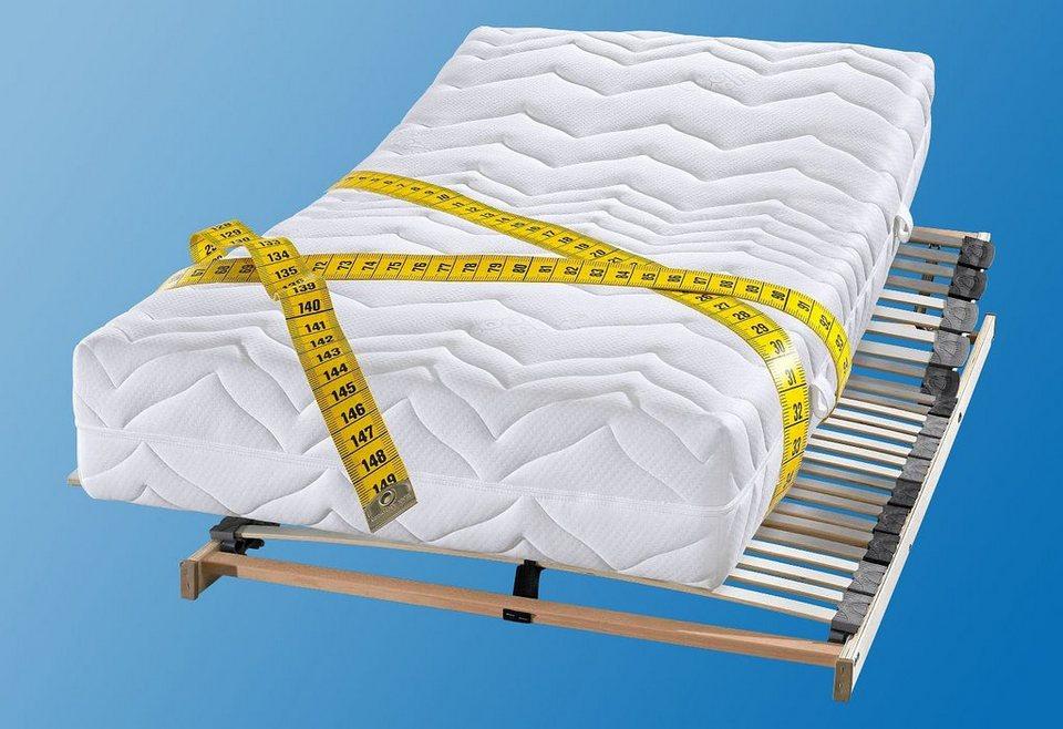 Kaltschaummatratze, »Luxus für Gewichtige«, BeCo