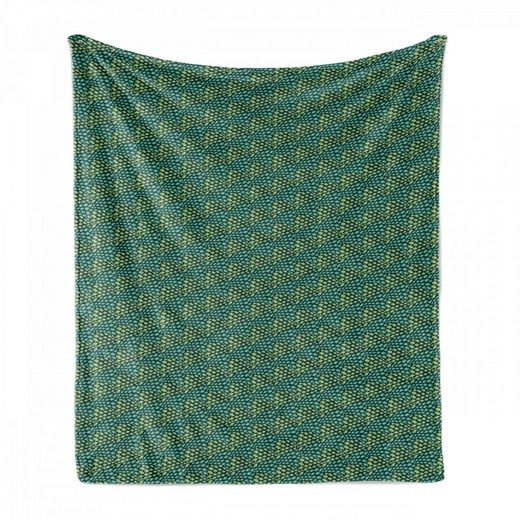 Foulard »Gemütlicher Plüsch für den Innen- und Außenbereich«, Abakuhaus, Fisch Schwimmen Fische Grüne Farbtöne