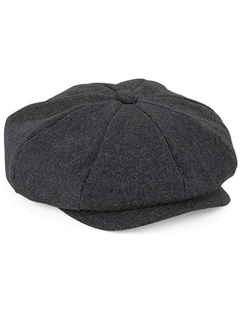 Beechfield® Flat Cap »Schiebermütze Wool Baker Boy Cap« Durchgehend gefüttert