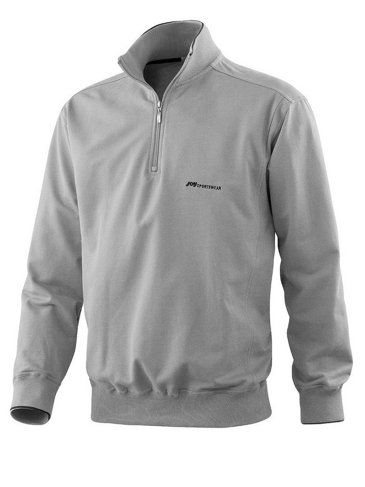JOY sportswear Sweatshirt »TIMOTHY« in titan mel.