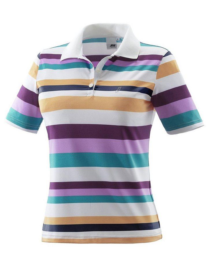 JOY sportswear Polo »BETTY« in krokus stripes