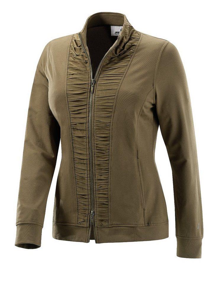 JOY sportswear Jacke »DILARA« in tobacco