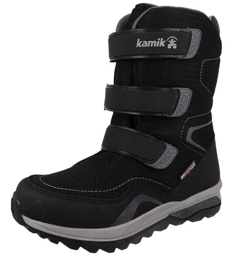Kamik »NF4080 Chinook HI Waterproof DriDefense BLK Black« Snowboots