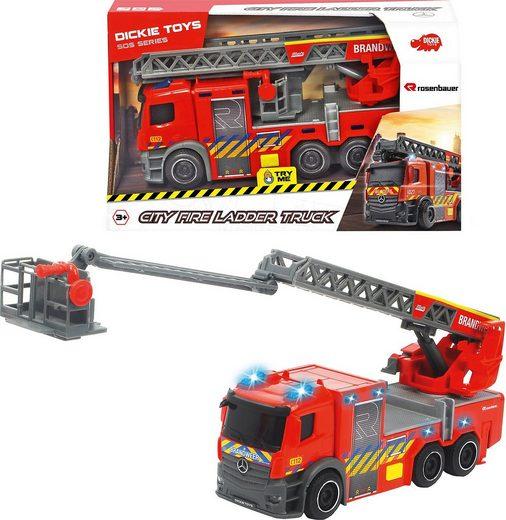 Dickie Toys Spielzeug-Auto »Feuerwehr Drehleiter«