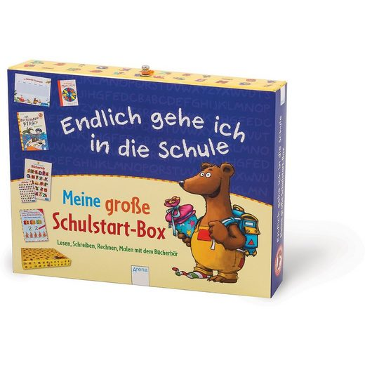 Arena Verlag Endlich gehe ich in die Schule - Meine große Schulstart-Box