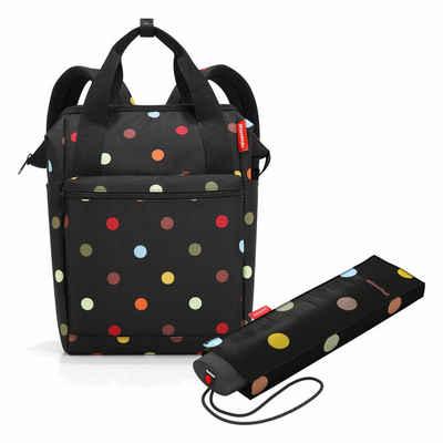 REISENTHEL® Reisetasche »allrounder R Set Dots« (Set, 2-tlg), mit umbrella pocket mini