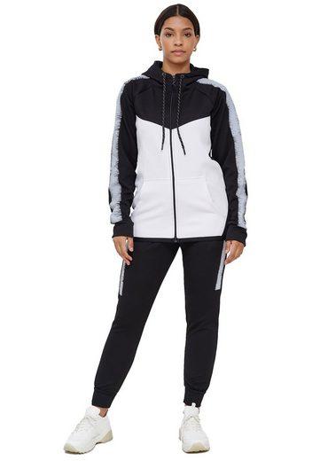 Code47 Jogginganzug »Code47 Damen Jogginganzug Jogging Trainingsanzug« (Sportanzug Trainingsanzug Fitnessanzug, 2-tlg., Sportswear TrackSuit Sweat)