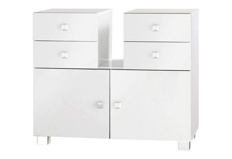 Waschbeckenunterschrank, Schildmeyer, »Bozen«, mit Soft-Close-Funktion