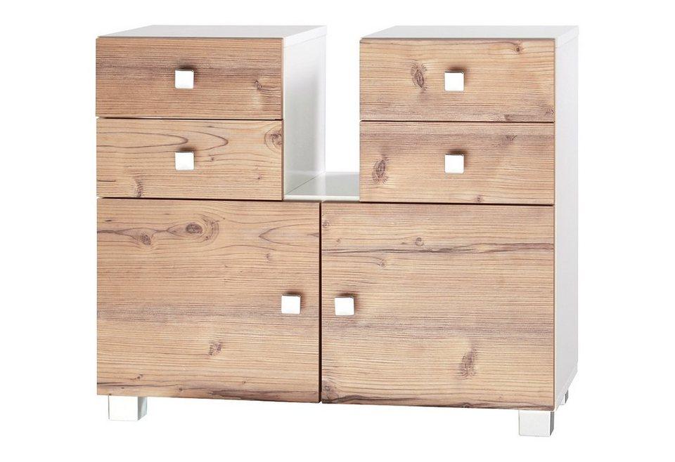 waschbeckenunterschrank schildmeyer bozen mit soft close funktion online kaufen otto. Black Bedroom Furniture Sets. Home Design Ideas