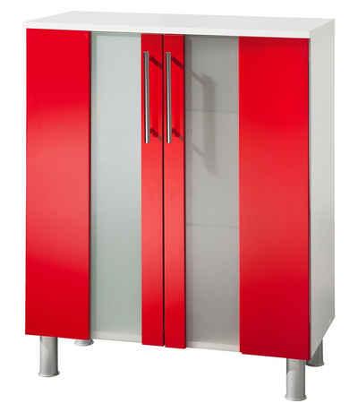 Rote Badmöbel badmöbel in rot kaufen otto