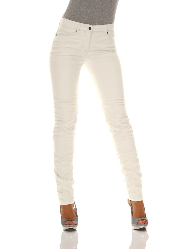 Bodyform-Push-Up-Jeans in offwhite