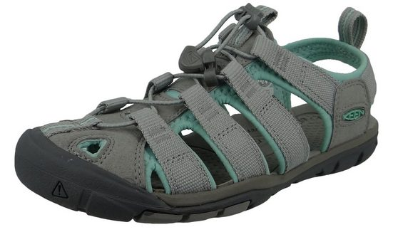 Keen »1022964 Clearwater CNX Light Gray Ocean Wave« Sandale