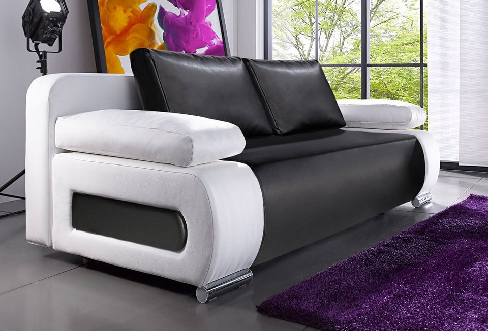 schlafsofa federkern 160 200 m belideen. Black Bedroom Furniture Sets. Home Design Ideas