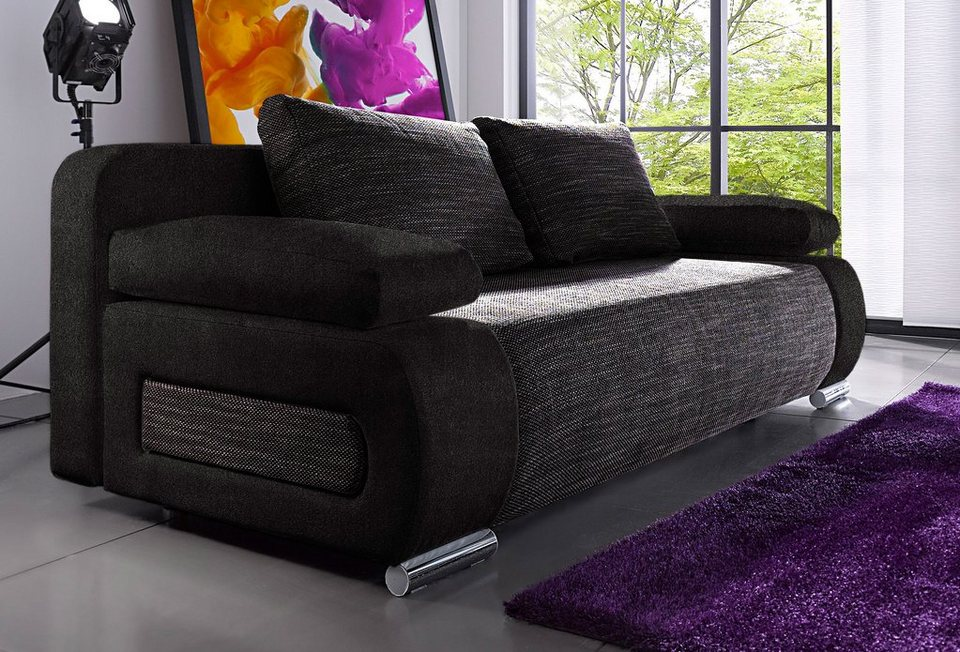 schlafsofa mit federkern online kaufen otto. Black Bedroom Furniture Sets. Home Design Ideas