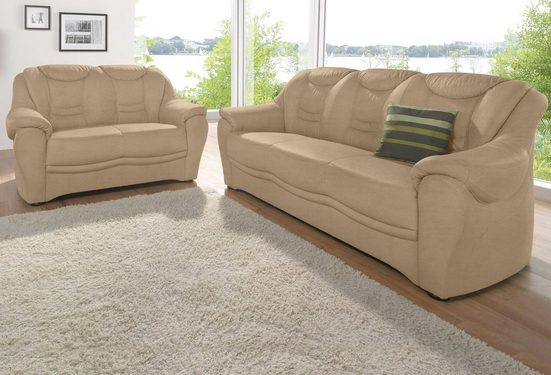 sit&more Polstergarnitur, bestehend aus einem 3- und einem 2- Sitzer, inklusive Federkern