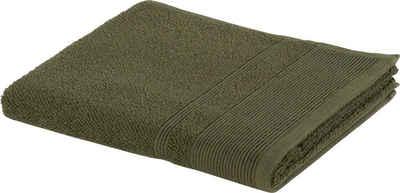 Möve Badetücher »Wellbeing« (1-St), aus Bio-Baumwolle und Leinen