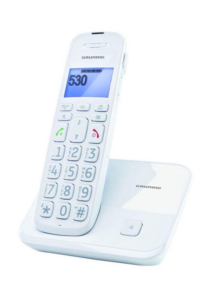 Grundig Telefon »D530« in Weiß
