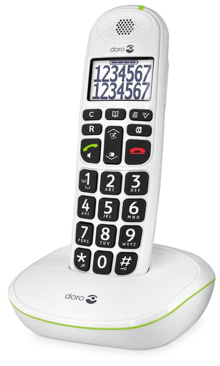 Doro Telefon analog schnurlos »PhoneEasy 110 (Eco Modus)«