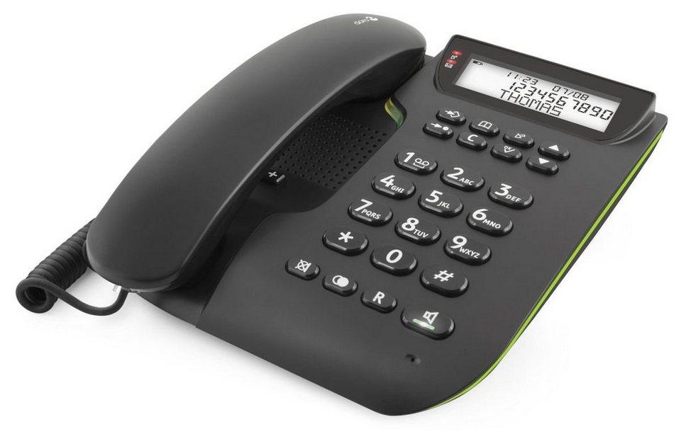 Doro Telefon analog schnurgebunden »Comfort 3000, Schwarz« in Schwarz