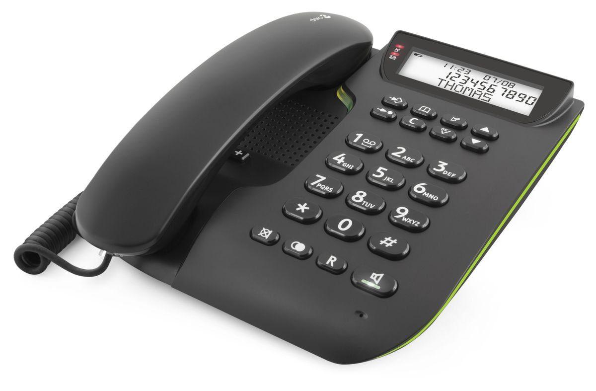 Doro Telefon analog schnurgebunden »Comfort 3000, Schwarz«