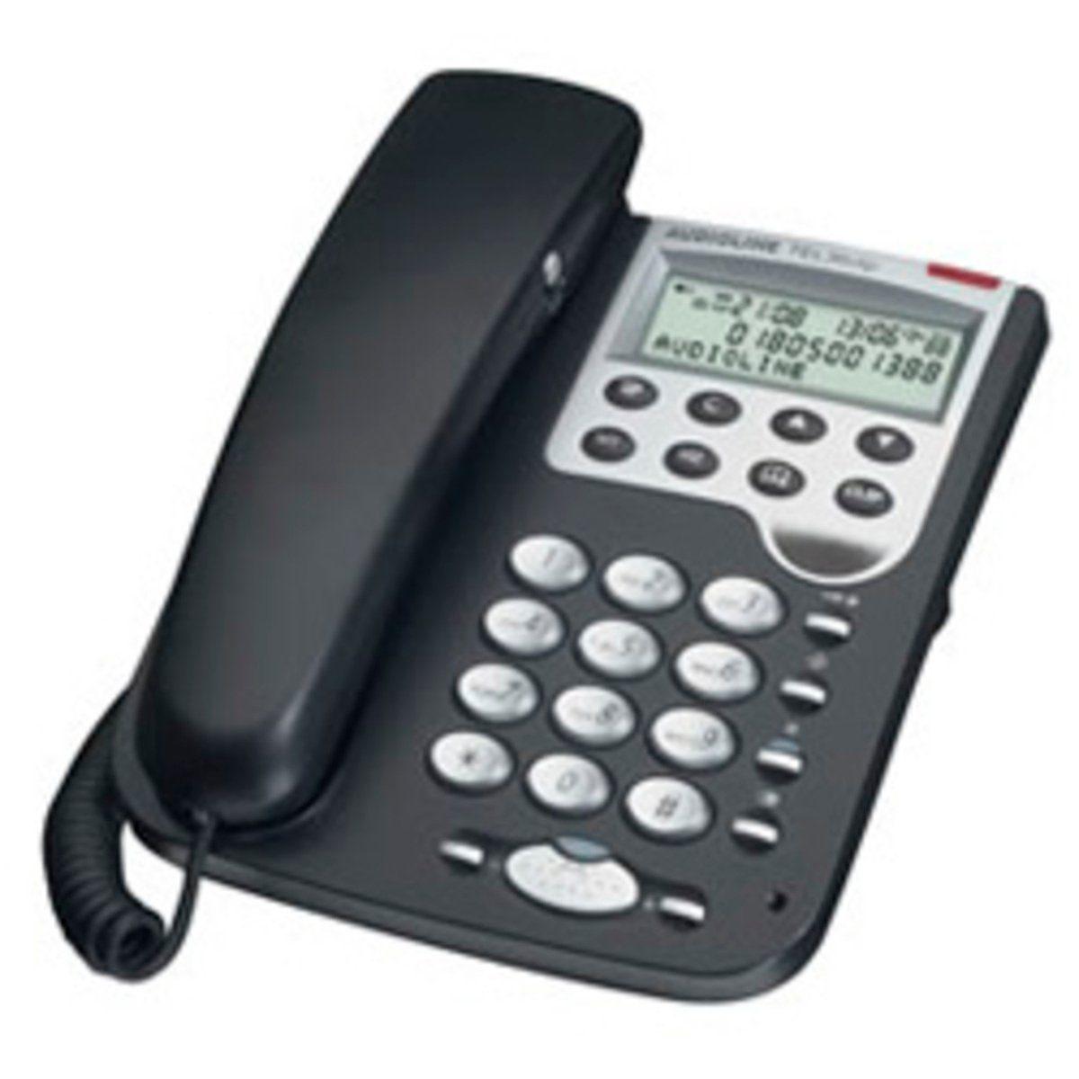 Audioline Telefon analog schnurgebunden »Tel 36 clip«