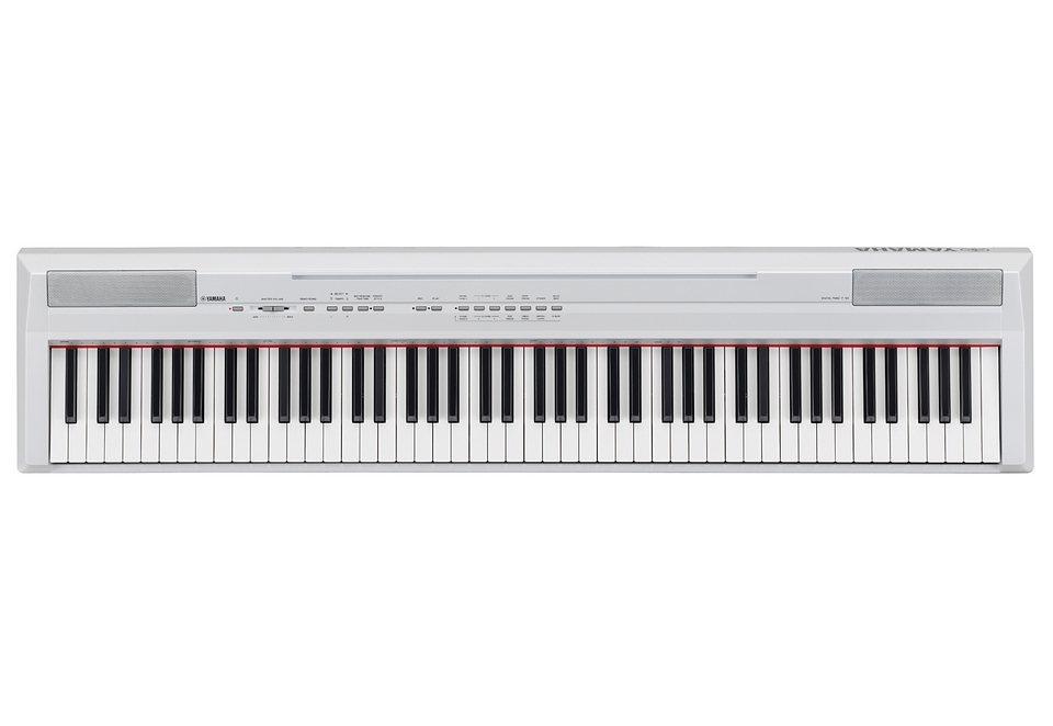 Digital-Piano, Yamaha, »P-105« in weiß