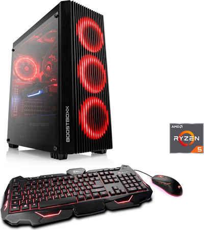 CSL HydroX T8316 Gaming-PC (AMD Ryzen 5 5600X, RTX 3070, 32 GB RAM, 2000 GB HDD, 1000 GB SSD, Wasserkühlung)