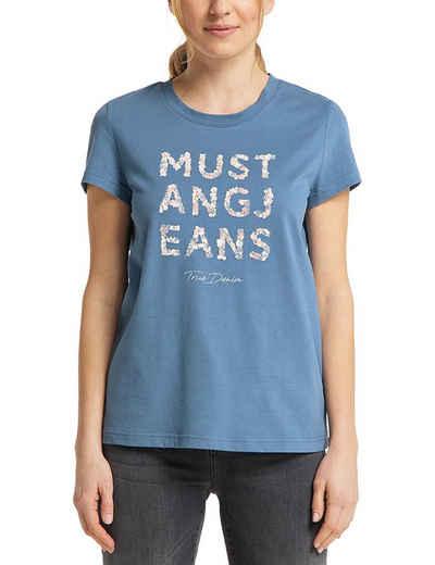 MUSTANG T-Shirt »Alina C Print« T-Shirt