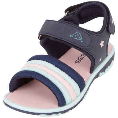 Kappa »KYA KIDS« Sandale mit zwei weitenregulierbaren Klettverschlüssen