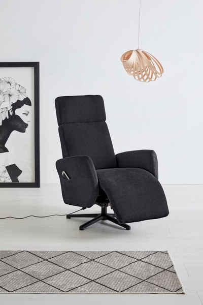 OTTO products TV-Sessel »Renell«, wahlweise manuell, mit zwei Motoren - auch in Akkubetrieb und 2 Motoren im Akkubetrieb und Aufstehhilfe; Bezugsqualitäten aus 100%-recyceltem Polyester
