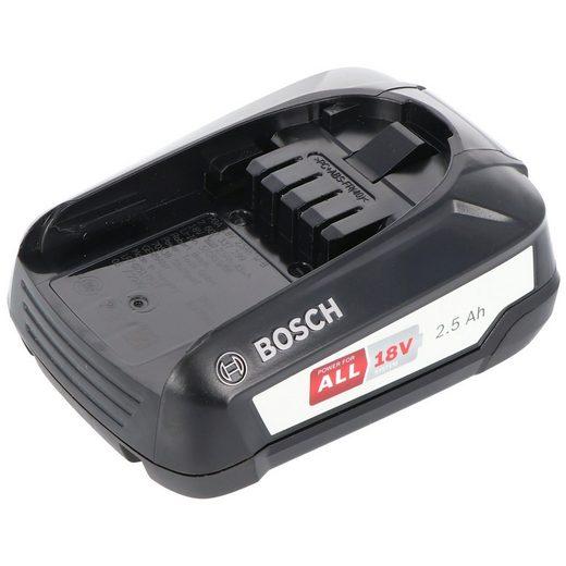BOSCH »Bosch 18 Volt Ersatz Akku 2,5 Ah passend für alle« Zusatz-Akku