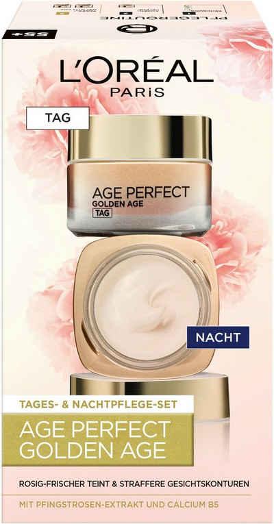 L'ORÉAL PARIS Gesichtspflege-Set »Age Perfect Golden Age Tag und Nacht« Set, 2-tlg., mit Neo-Calcium
