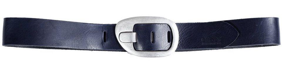 CROSS Jeans ® Gürtel in Dark Blue